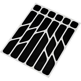 Riesel Design re:flex Reflective Stickers, black